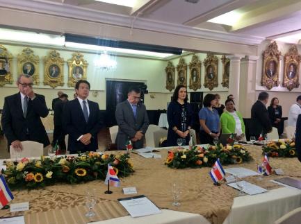 Participa MPG en reunión interparlamentaria en Costa Rica