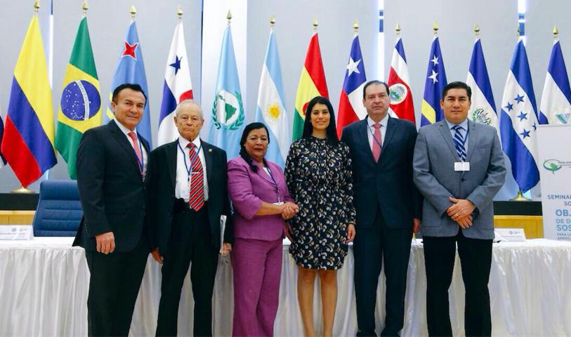 Participa Martha Palafox en seminario sobre objetivos de desarrollo en América Latina