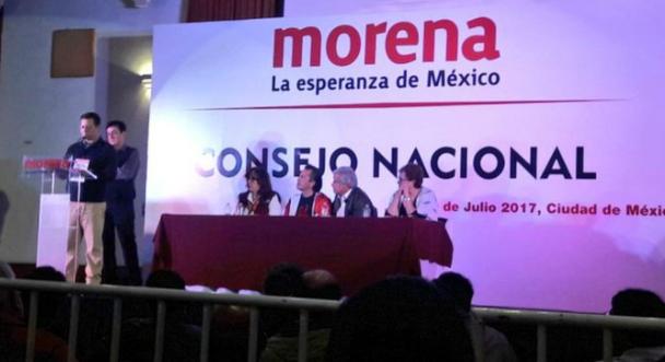 Asiste Senadora Palafox a Consejo Político de Morena