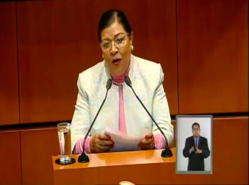 Avala Martha Palafox modificaciones a la ley en beneficio de Ganaderos