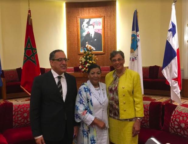 Aborda Martha Palafox agenda ambiental y comercial en gira por Marruecos
