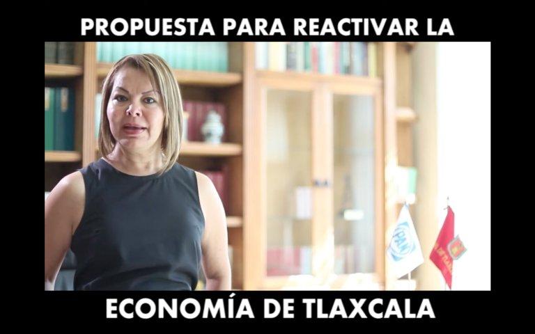 Propone Minerva Hernández medidas para reactivar economía tlaxcalteca tras efectos por Covid-19