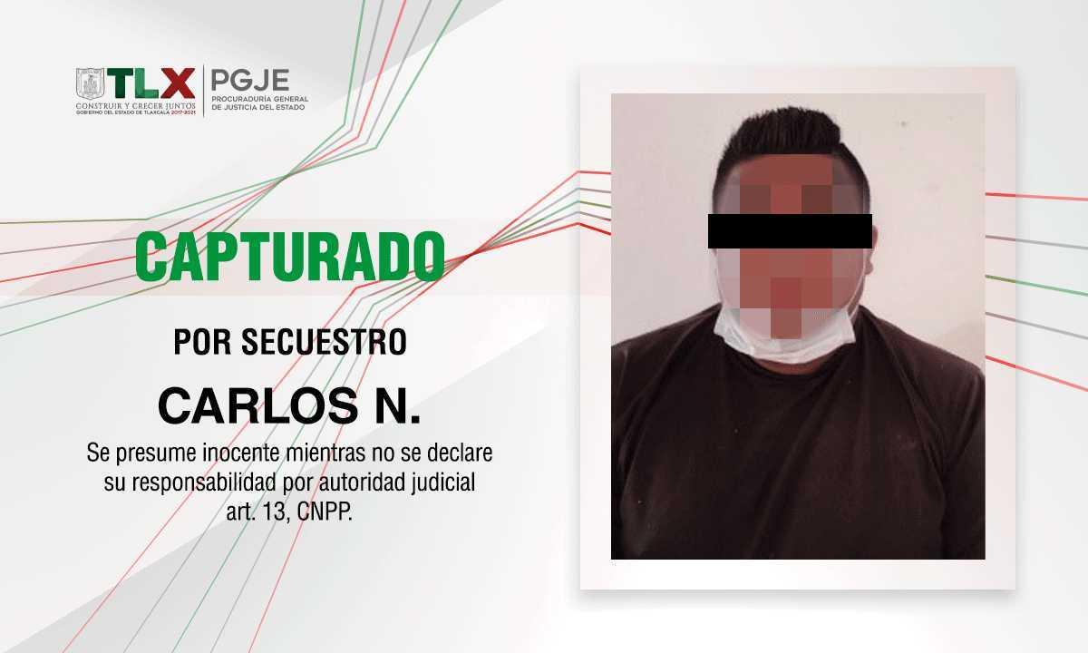 Detienen en Veracruz a peligroso secuestrados y homicida tlaxcalteca