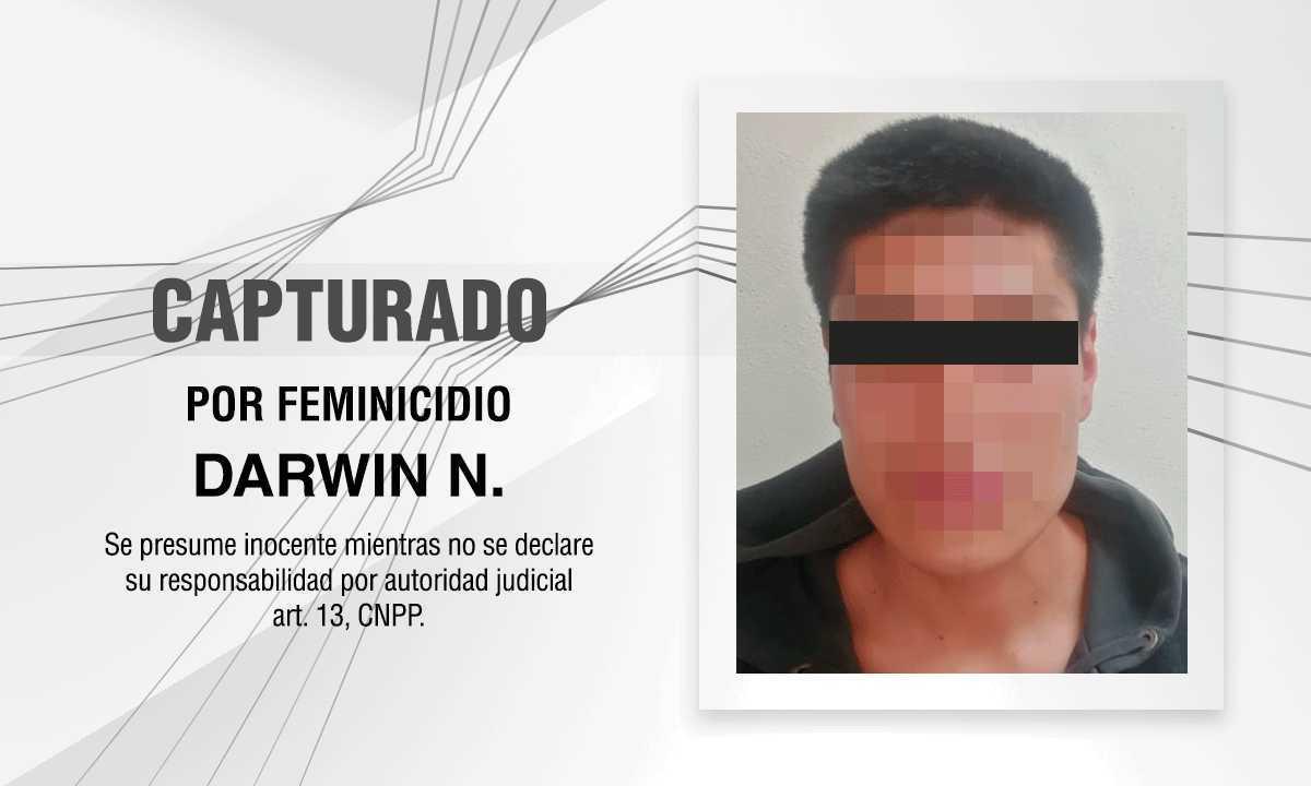 Esclarece PGJE feminicidio ocurrido al interior del panteón de Panotla