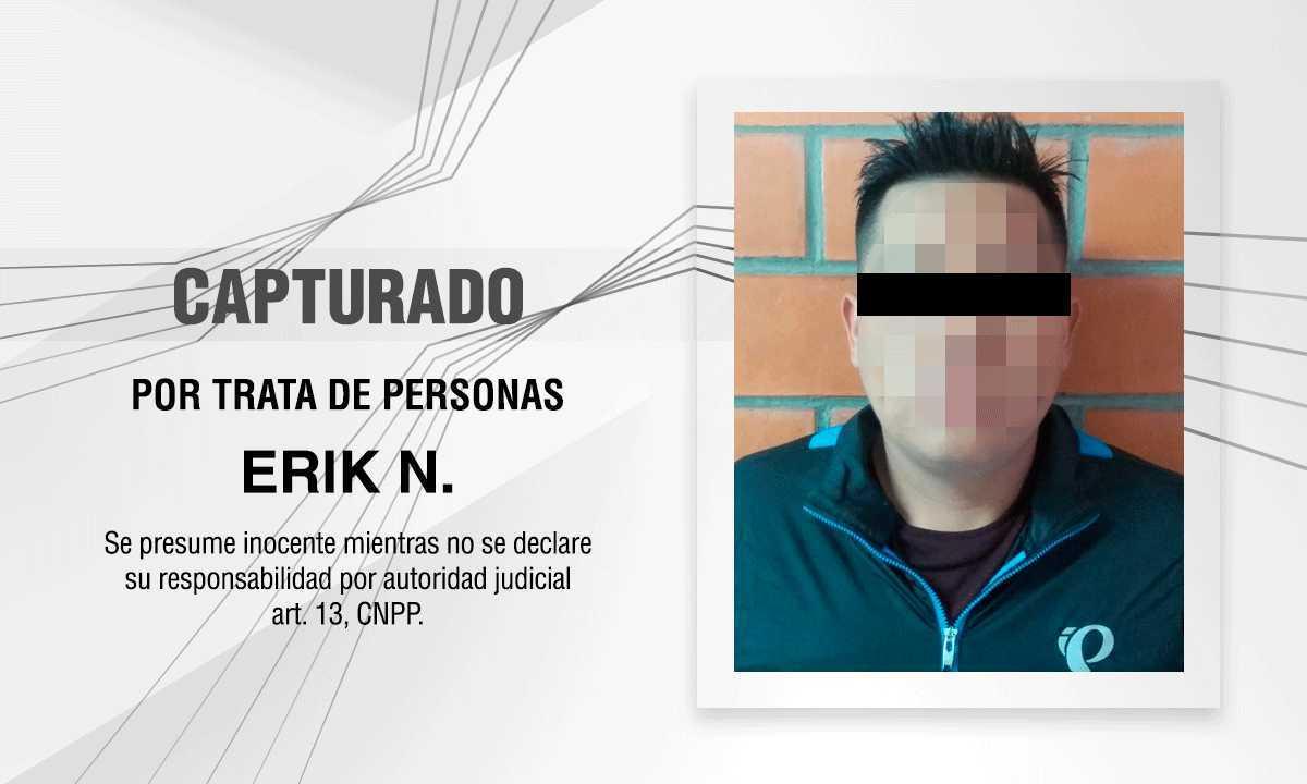 Capturan PGJE y Fiscalía De Guanajuato a imputado por trata de personas