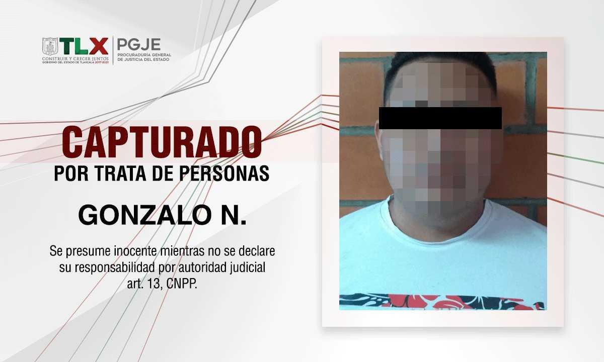 Capturan a oaxaqueño que prostituía a una mujer en Tlaxcala y Puebla
