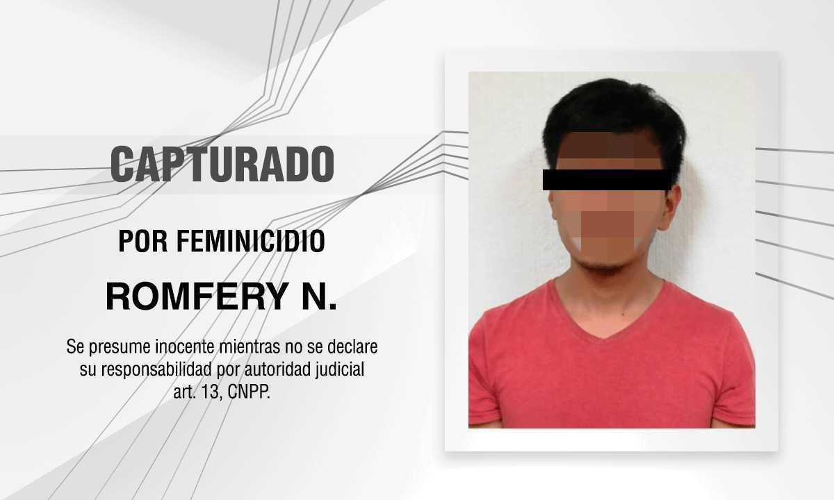 Al Cereso, imputado por el feminicidio de Itzel N; PGJE