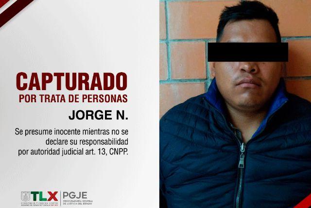 Logra UIDAI la captura de presunto tratante en SPM: PGJE