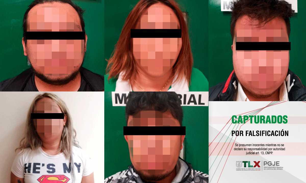Capturan PGJE y fiscalía del Edomex a banda dedicada al fraude de cajeros automáticos