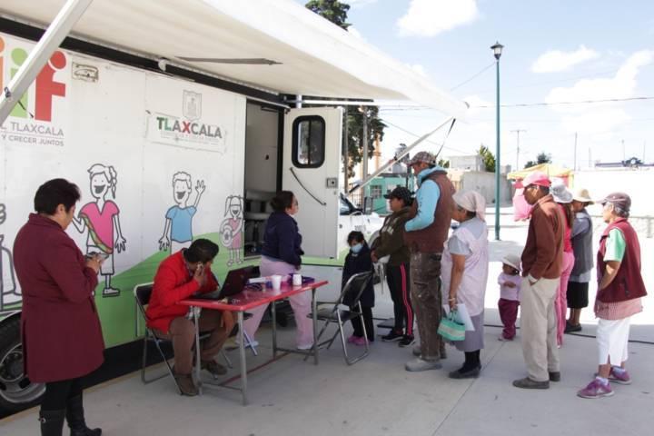 Caravana de la Salud atendió a más de 2,500 personas: Gabriela Escamilla