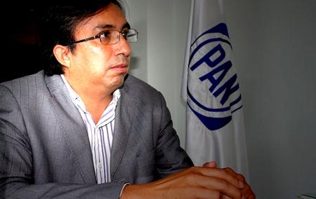 Incumplido el Presidente Estatal del PAN Tlaxcala, Carlos Carreón
