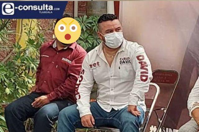 Acusan de presunto fraude y transa al regidor Carlos David Robles