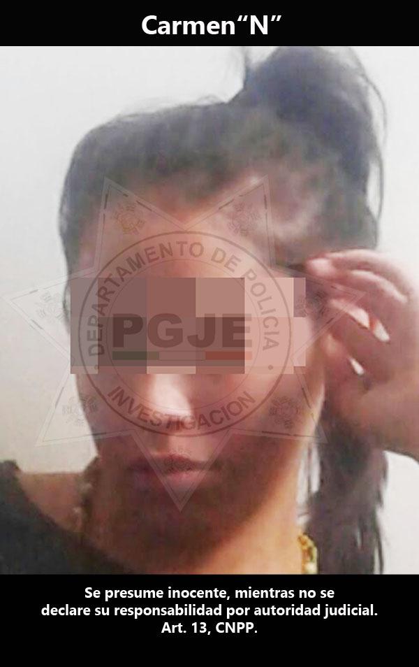 Obtiene PGJE vinculación a proceso en contra de imputada por homicidio calificado