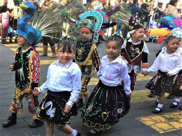 Fomenta SEPE identidad entre alumnos de preescolar con el Carnaval