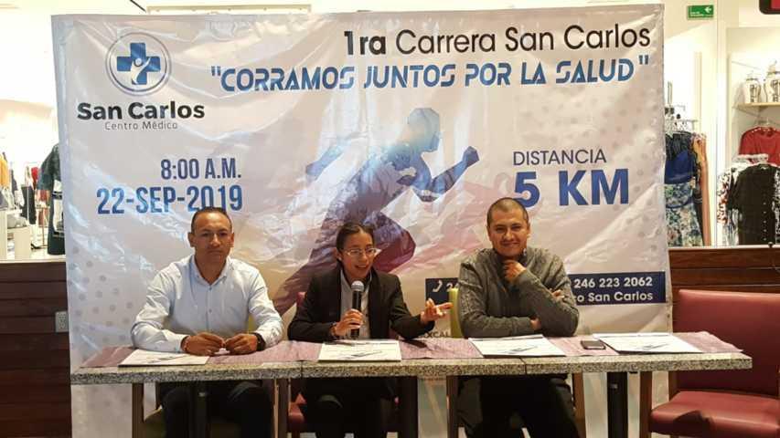 Invitan a Carrera Deportiva Corramos Juntos por la Salud en la capital