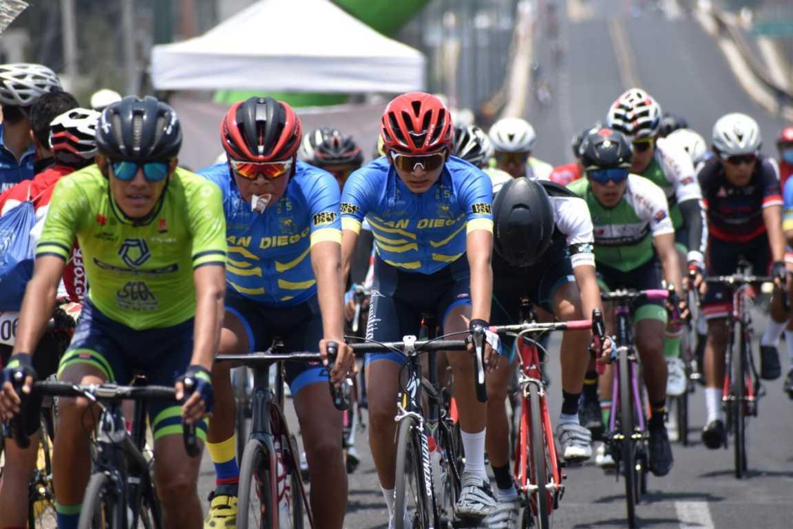 Fue Zacatelco sede del clasificatorio ciclista de los juegos nacionales de Conade