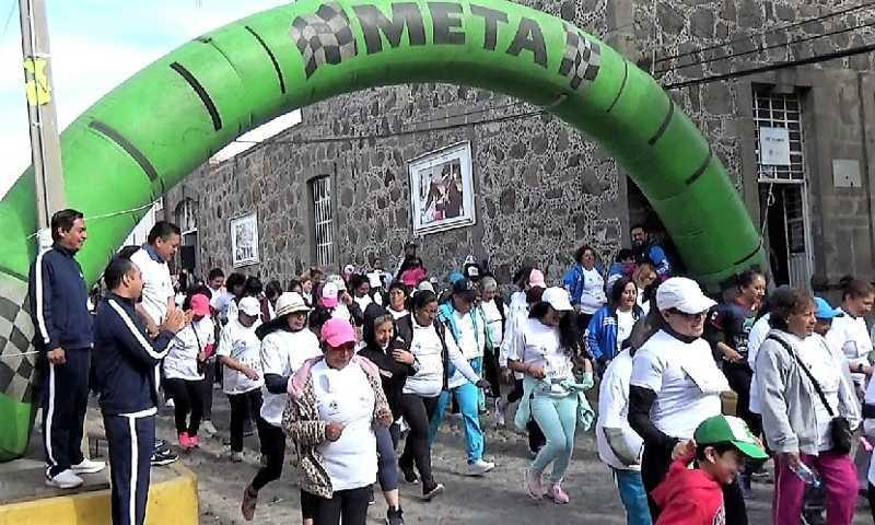 Delia López triunfa en la cuarta Carrera De La Mujer en Yauhquemehcan