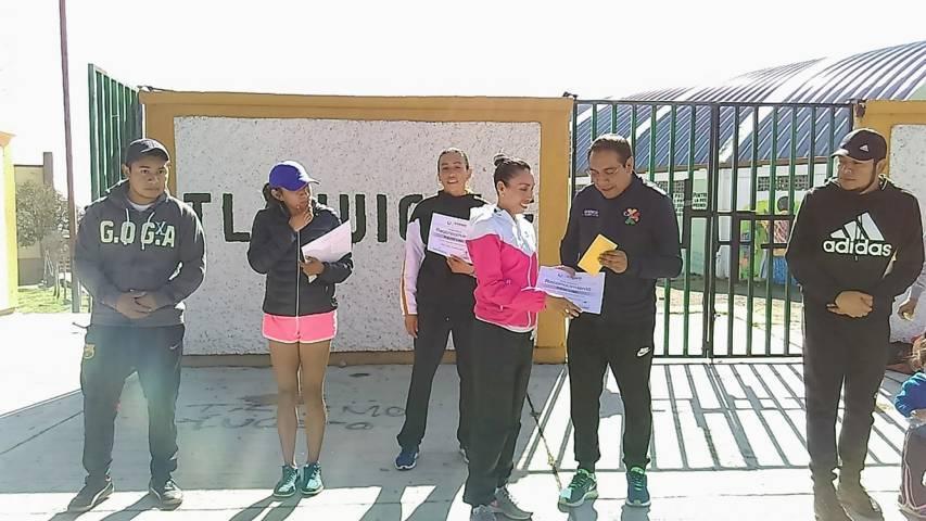 Con éxito se realizó la segunda edición de la carrera de la mujer en Ixtenco