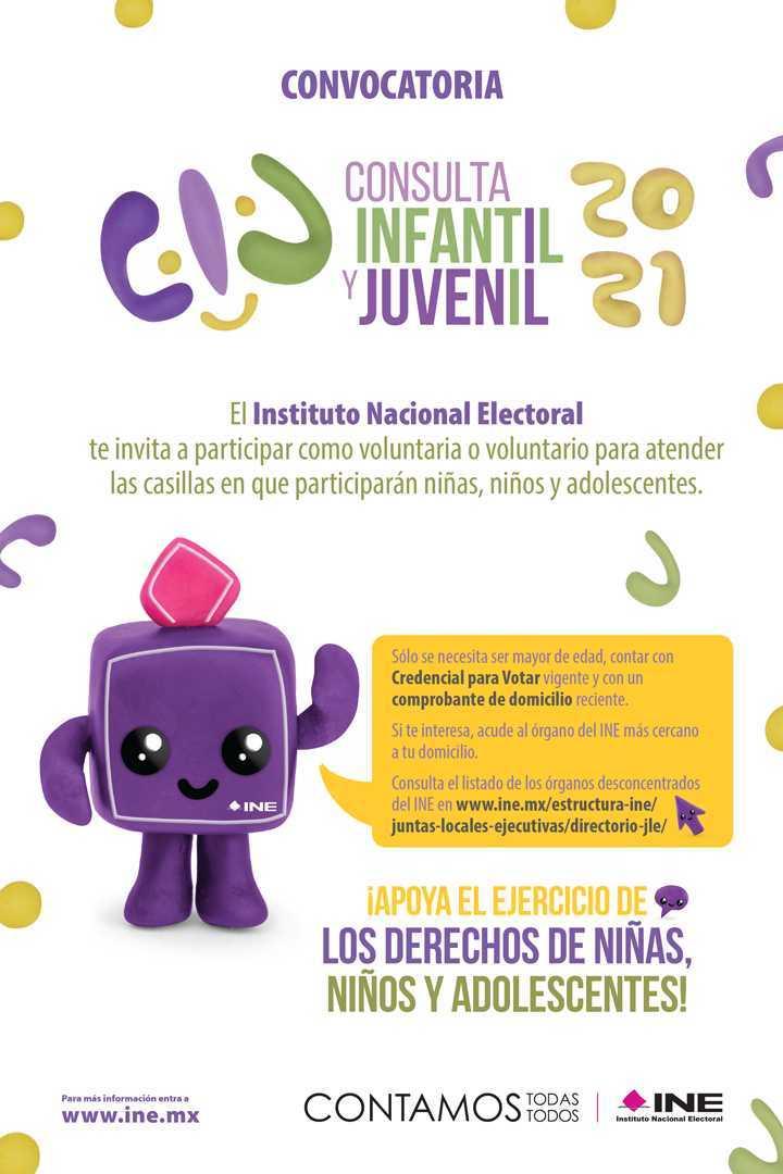 INE Tlaxcala inicia organización de la Consulta Infantil y Juvenil 2021
