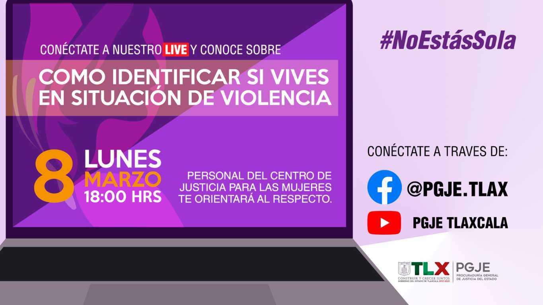 El CJM orientará en línea como identificar si vives en situación de violencia