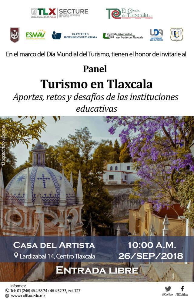 Realizarán universidades panel sobre turismo en Tlaxcala