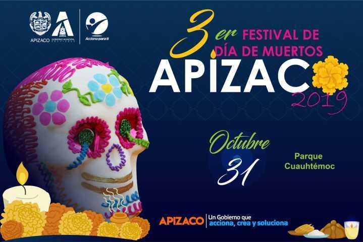 Se alista Apizaco para su Tercer Festival de Día de Muertos 2019