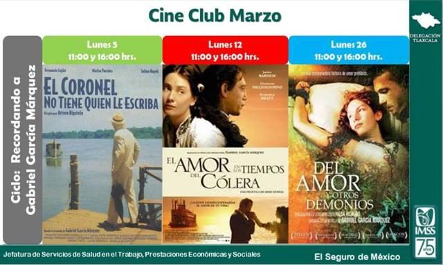 Invita IMSS al ciclo de cine Gabriel García Márquez