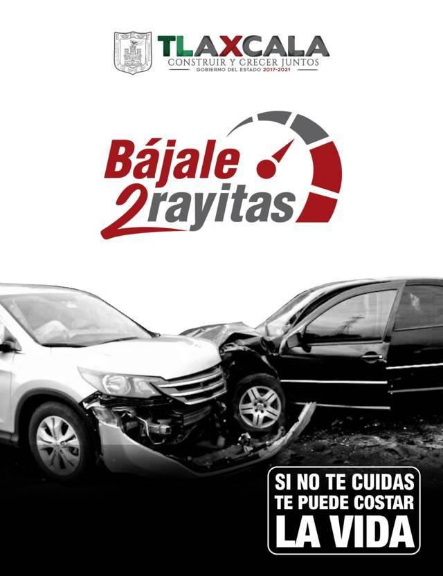 Refuerzan campaña Bájale 2 Rayitas en época decembrina