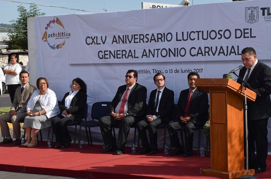 La colectividad por encima del ego personal, legado vigente de Antonio Carvajal