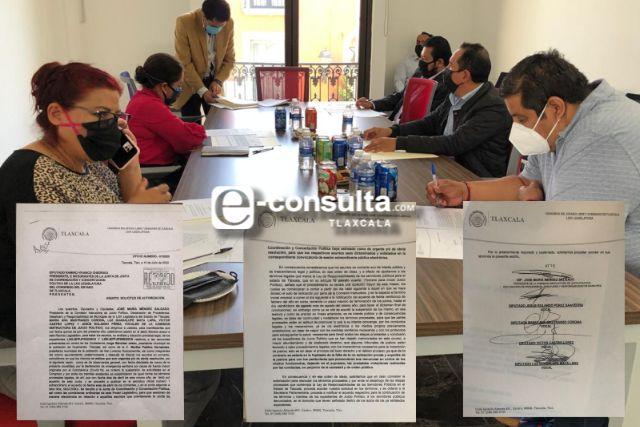 Siguen en marcha juicios políticos contra alcaldes de Huamantla y Axocomanitla