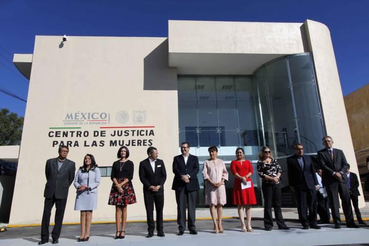 En marcha, Centro de Justicia para las Mujeres
