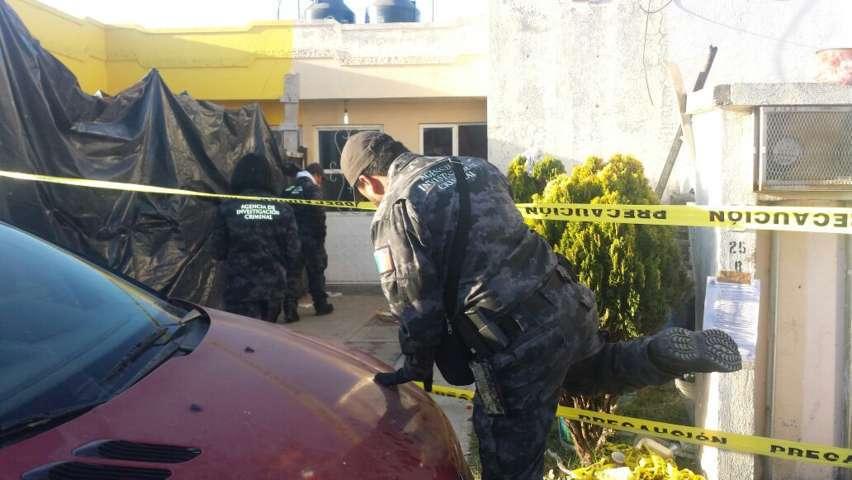 Durante un cateo decomizan arma de fuego en Tzompantepec