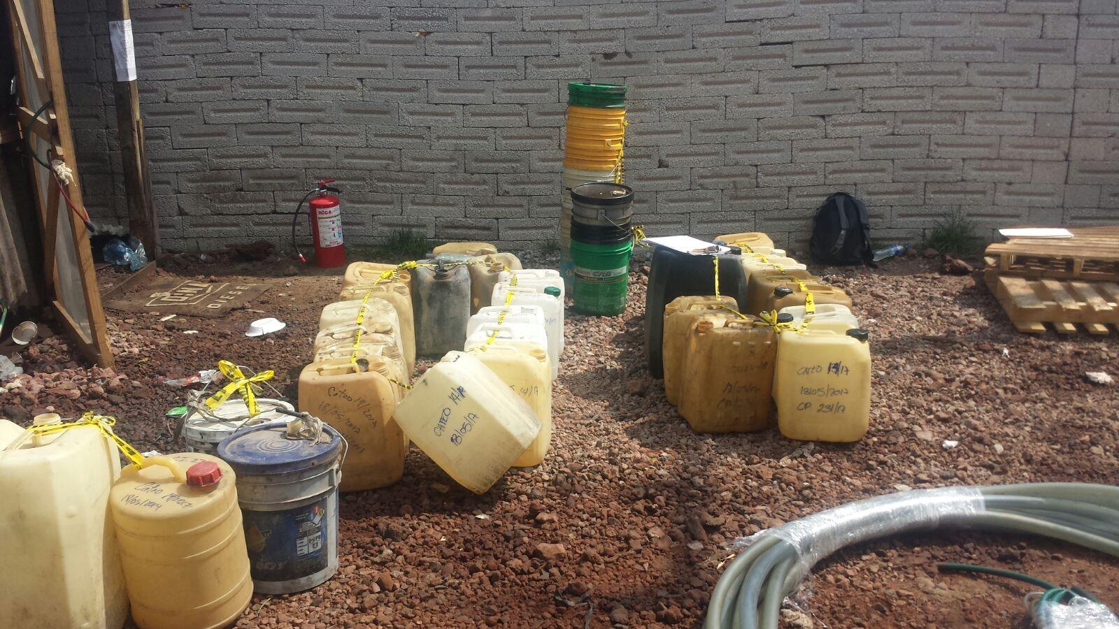 PGR realiza dos cateos en el Carmen Tequexquitla y decomisa hidrocarburo