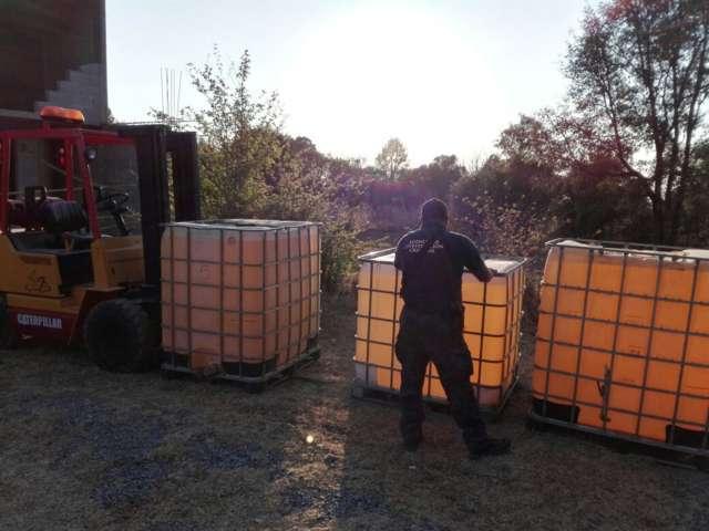 Asegura PGR Tlaxcala, un inmueble y más de 12 mil litros de hidrocarburo