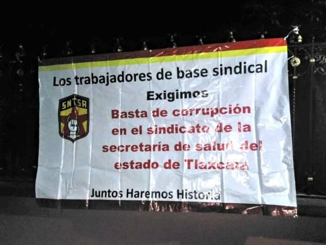 Trabajadores oprimidos por Blanca Águila aprovechan 1 de mayo