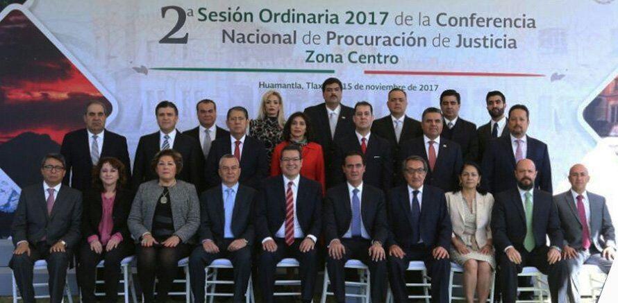 Acude Arnulfo Árevalo Lara a la Conferencia Nacional de Procuración de Justicia