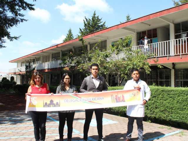 Jóvenes del CBTA 153 representarán a México en Expo Ciencias Internacional en Abu Dabi