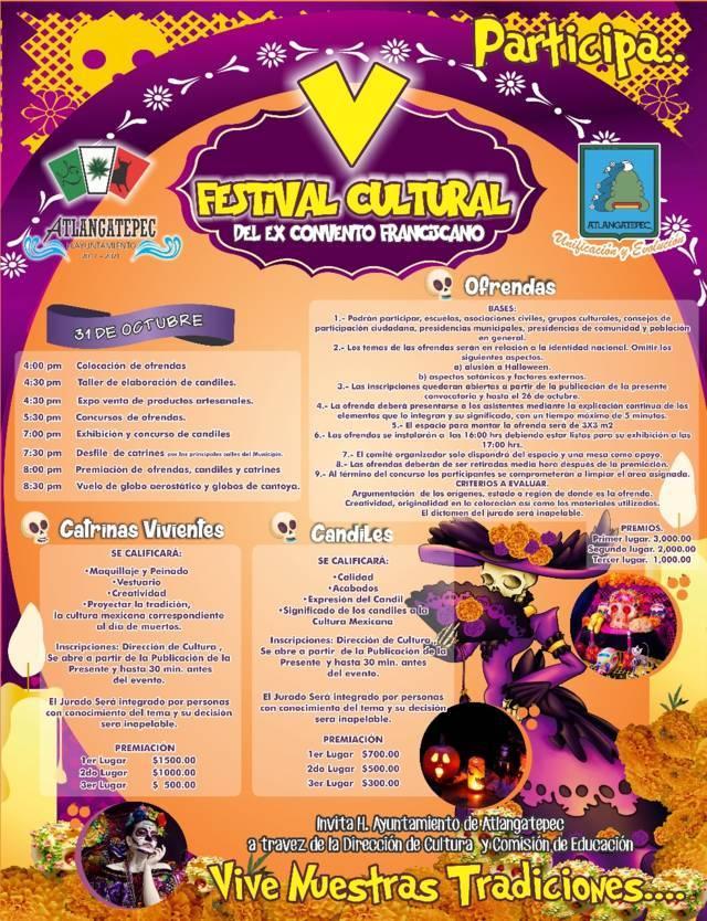 """Hoy arranca el """"V Festival Cultural del Ex Convento Franciscano"""""""