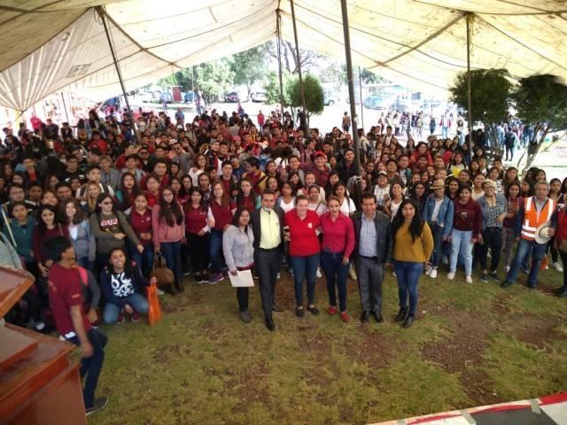 Reconoce CEA de la UAT a Carlos Luna como gestor del Campus Amaxac