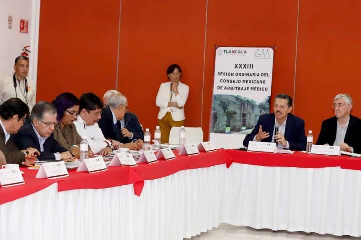 Presenta CEAM conclusiones de la XXXIII Sesión Ordinaria Del Consejo Mexicano De Arbitraje Médico