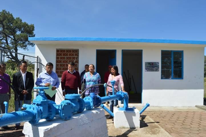 Rehabilita Comisión Estatal De Agua pozo de San Miguel Xaltipan