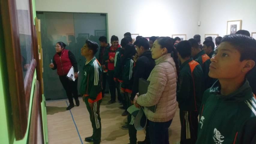 Estudiantes de CECYTE visitan museos de Tlaxcala