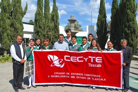 Van 4 proyectos del Cecyte a la Expociencias Nacional 2019