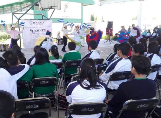 Difunde CECyTE Tlaxcala expresiones artísticas internacionales en planteles