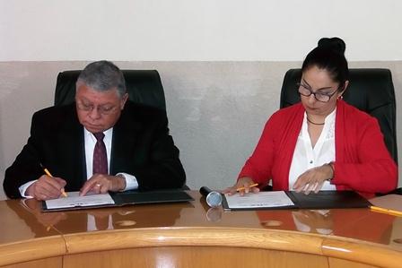 Signan CEDH y CEAM convenio para mejorar atención médica