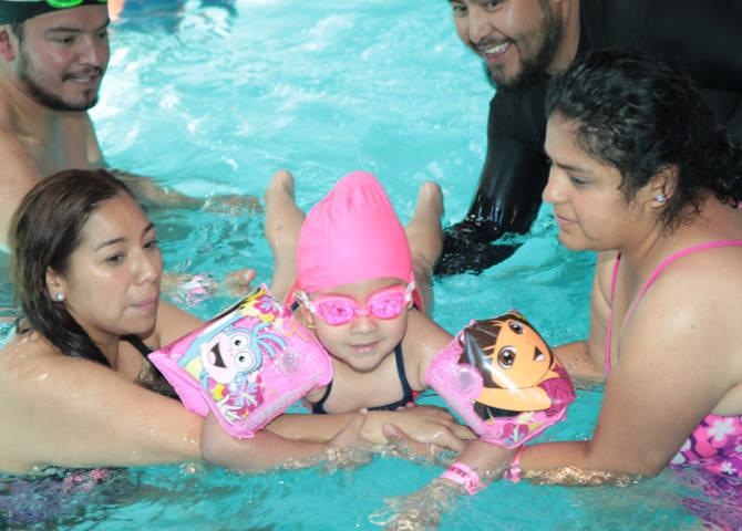 Con recreación acuática, CENDI 5 fomenta valores y conocimientos