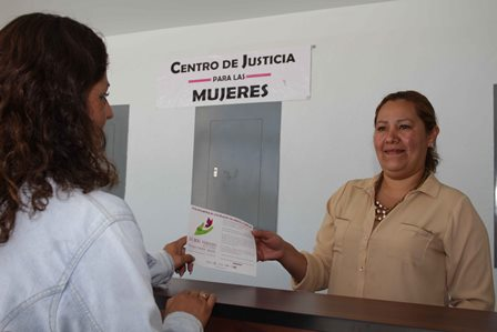 Reciben trato cálido en el Centro de Justicia para las Mujeres