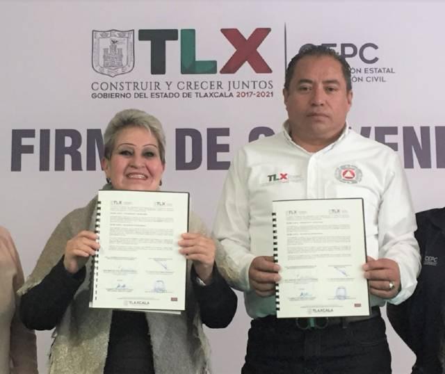 Firman CEPC y COSSIES convenio en beneficio de estudiantes
