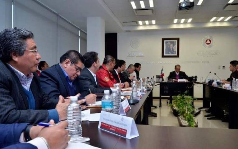 Participa CEPC en Reunión Nacional por Actividad Volcánica