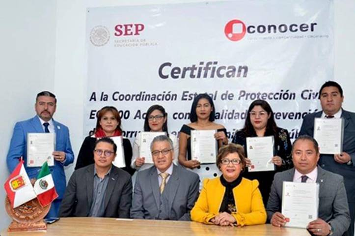 """Obtiene CEPC certificado del """"Conocer"""" en legalidad y transparencia"""